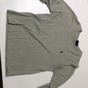 Grey Ralph Lauren long sleeve shirt